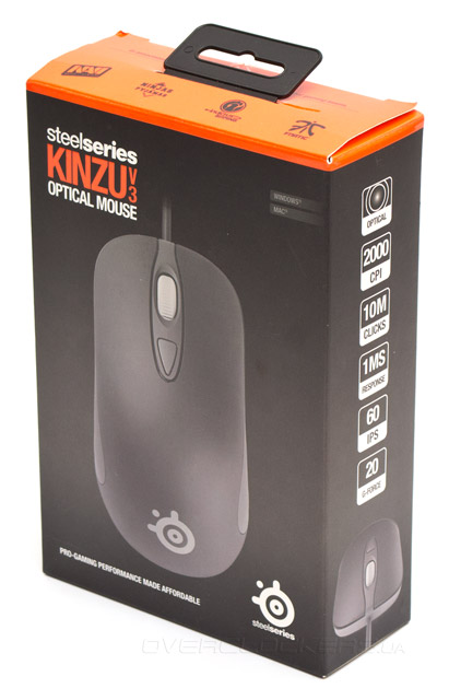 SteelSeries Kinzu v3
