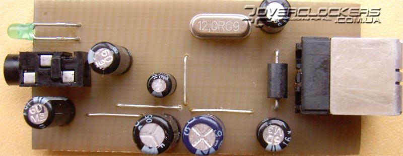 USB аудио-адаптер своими