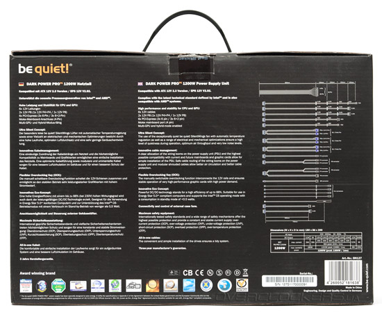 be quiet! Dark Power Pro 1200W (BQT 8P-PRO-1200W)