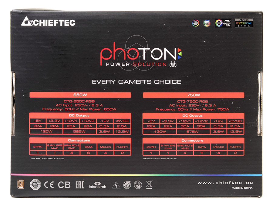 Chieftec Photon CTG-750C-RGB