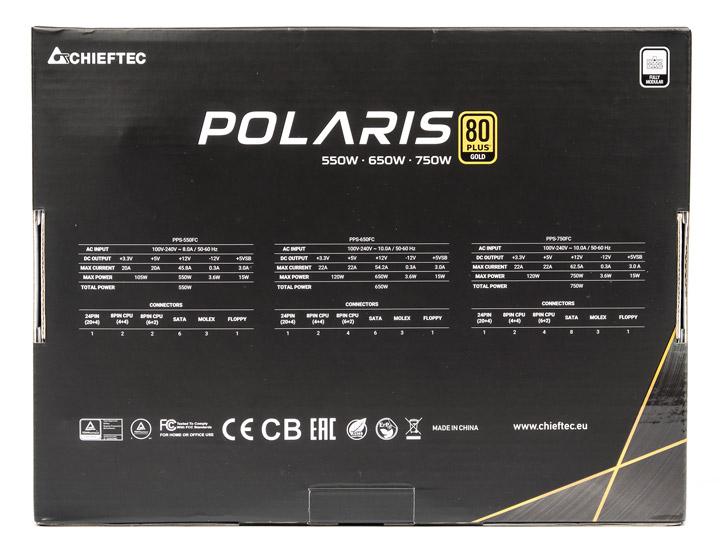 Chieftec Polaris PPS-750FC