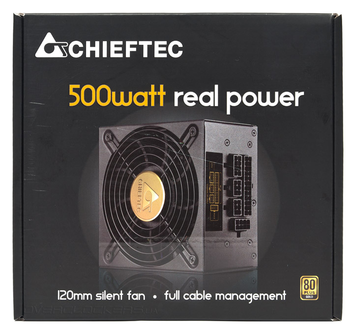 Блок питания SFX CHIEFTEC 500W Smart (SFX-500GD-C) - фото Chieftec SFX-500GD-C