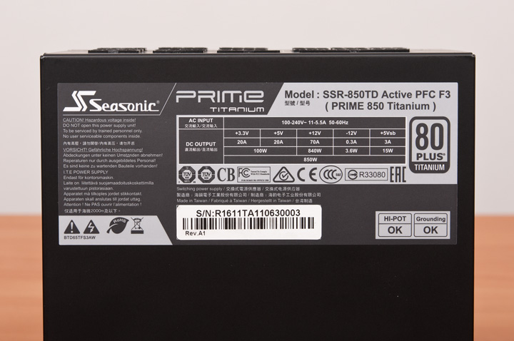 Seasonic Prime Titanium