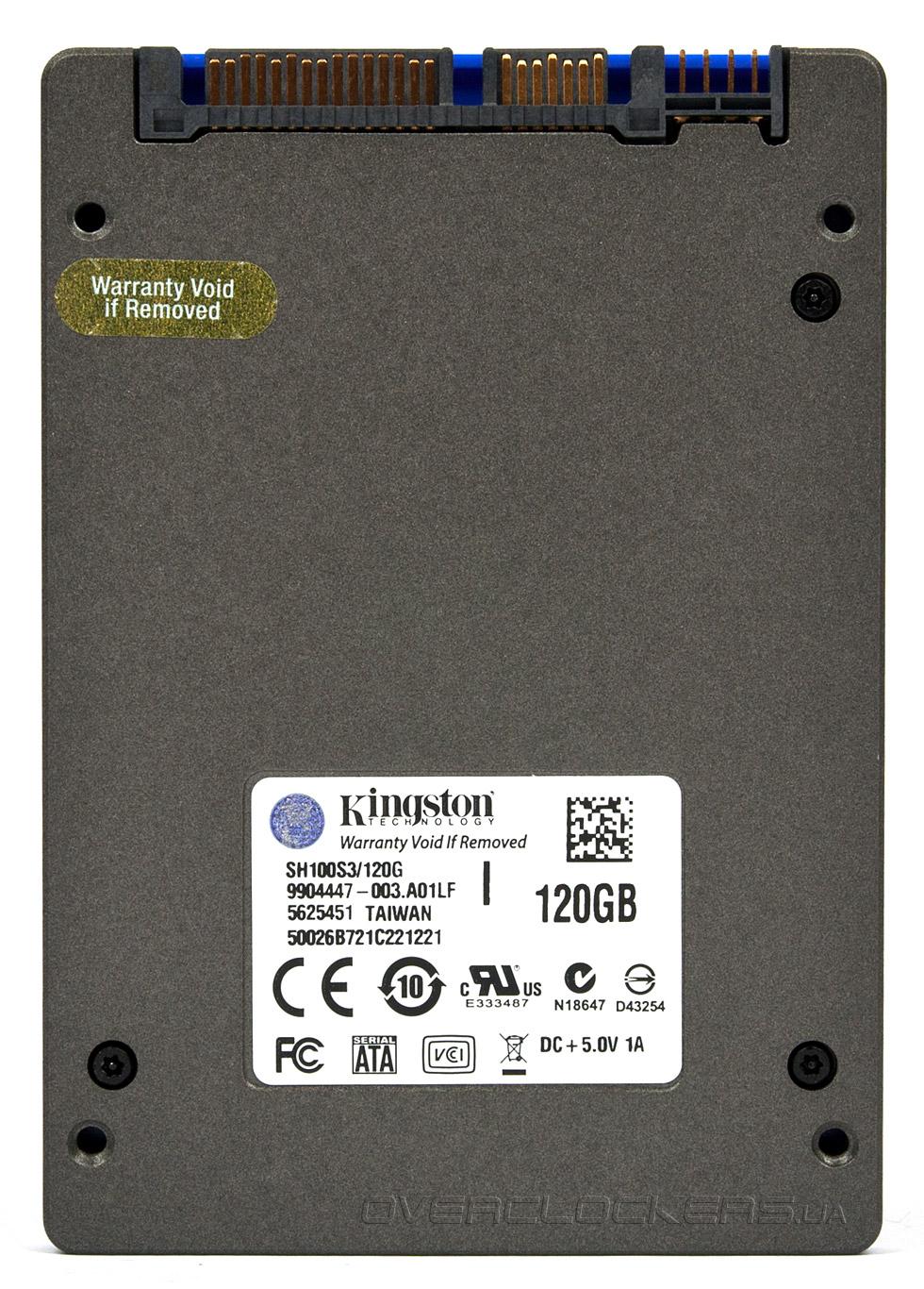 Kingston SH100S3B 120GB SSD Driver for Mac