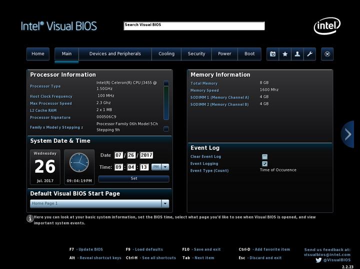 Обзор и тестирование двух компактных персональных компьютеров Intel