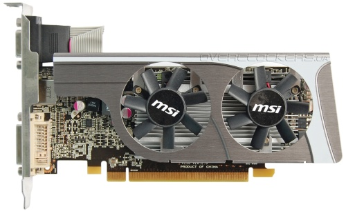 Видеокарта MSI Radeon 6570 R6570-MD1GD3/LP