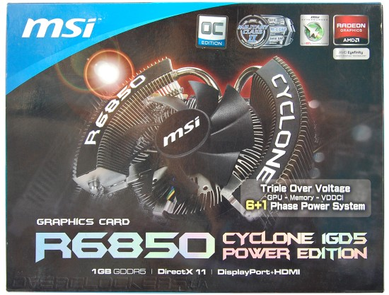 MSI R6850 Cyclone 1GD5 Power Edition/OC