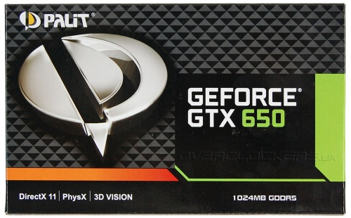 Palit GeForce GTX 650