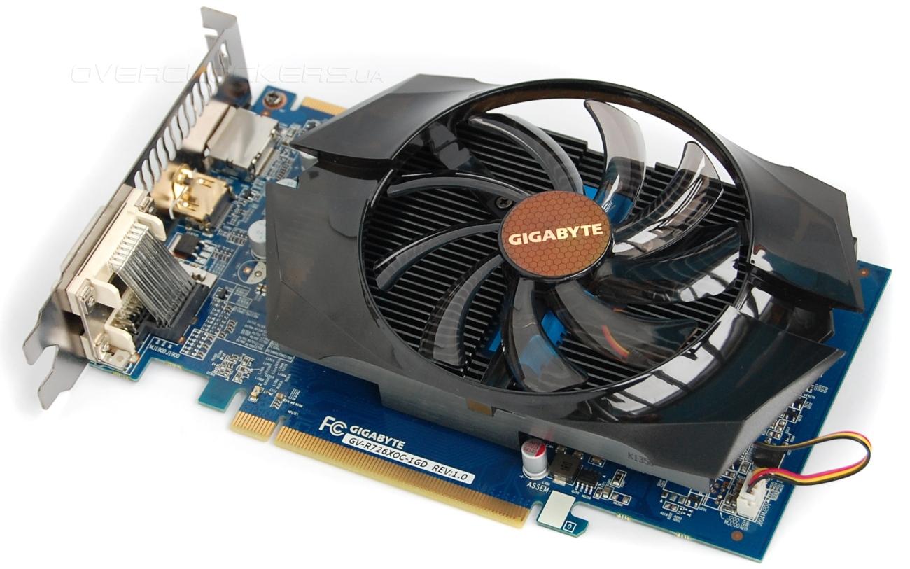 Тестирование Radeon R7 260X 1GB  Обзор видеокарты Gigabyte GV