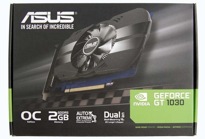 Знакомство с GeForce GT 1030 на примере видеокарты ASUS Phoenix Fan