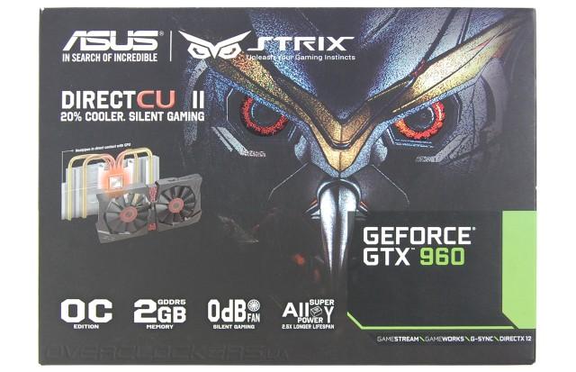 ASUS STRIX-GTX960-DC2OC-2GD5