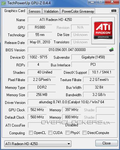 ATI MOBILITY RADEON 4250 DESCARGAR CONTROLADOR