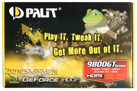 Palit GeForce GeForce 9800GT Green 512MB