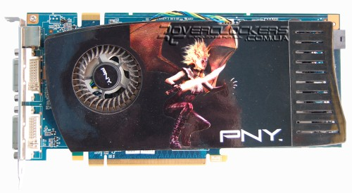 Видеокарта PNY GeForce 8800GT 512MB DDR3