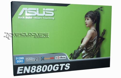 Видеокарта ASUS GeForce 8800GTS