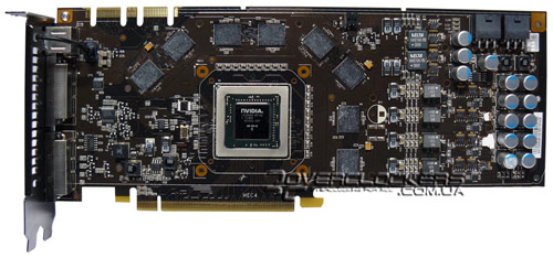 PCB GeForce 9800 GTX