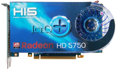 HIS HD 5750 IceQ+ 1GB (H575Q1GD)
