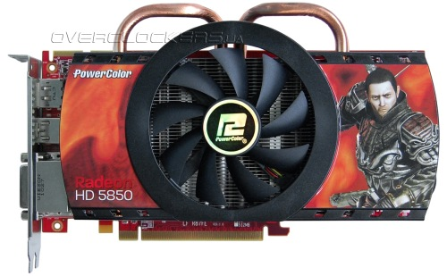 PowerColor HD5850 1GB GDDR5 (AX5850 1GBD5-DH)