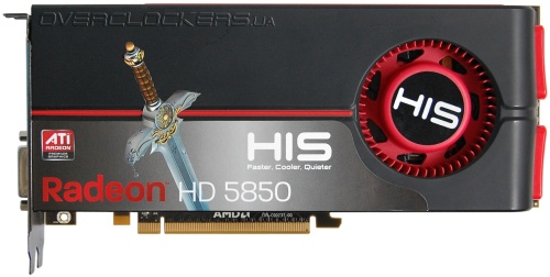 HIS HD 5850 1GB (H585F1GD)