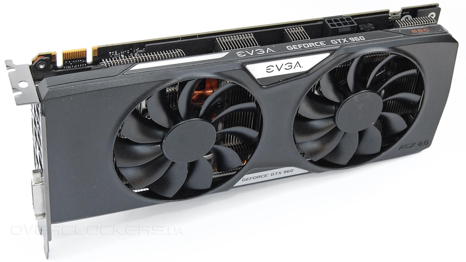 Обзор и тестирование видеокарты EVGA GeForce GTX 960 SuperSC