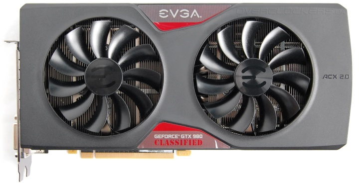 EVGA GeForce GTX 980 Classified Gaming ACX 2.0