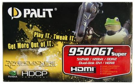 Драйвера Видеокарты Palit-9500Gt
