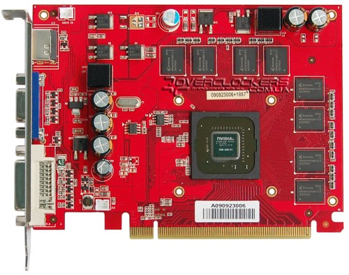 Palit GeForce 9500GT Super 512MB DDR2