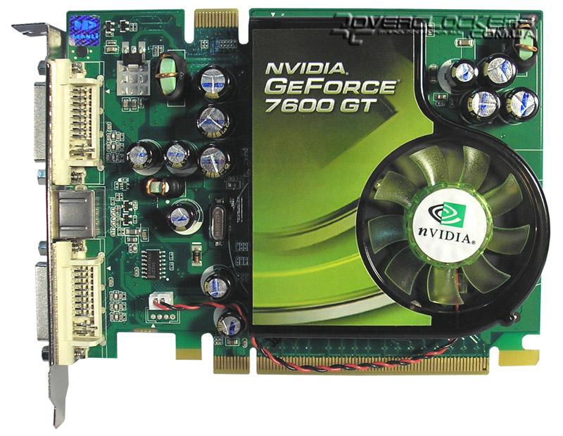 скачать nvidia geforce 7600 gt driver