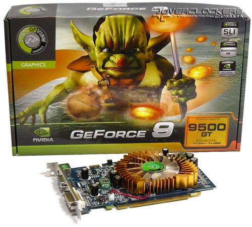 Point of View GF9500GT 512MB DDR2
