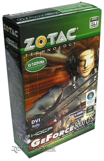 ZOTAC GeForce 8600GTS 512MB