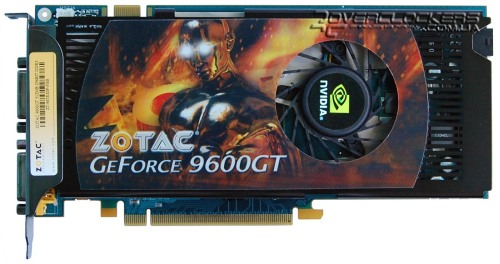 Видеокарта Palit GeForce 9600GT