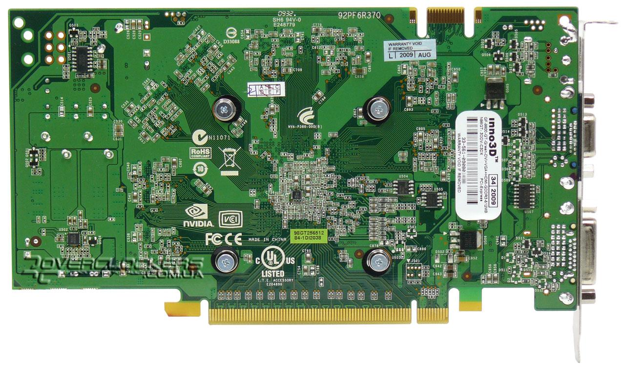 схема видеокарты geforce 9800 gt