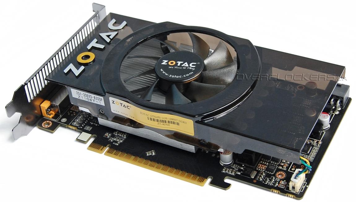 Zotac GeForce GTS 450