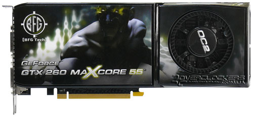 Видеокарта BFG GeForce GTX 260 OC2