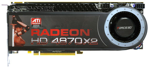 Видеокарта Force3D Radeon HD 4870 X2