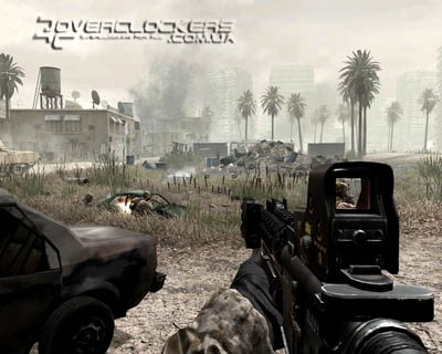 Тестирование GeForce GTX 280 и GeForce 9800 GX2 в Call of Duty 4