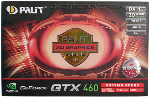 Palit GeForce GTX 460 Sonic 2GB