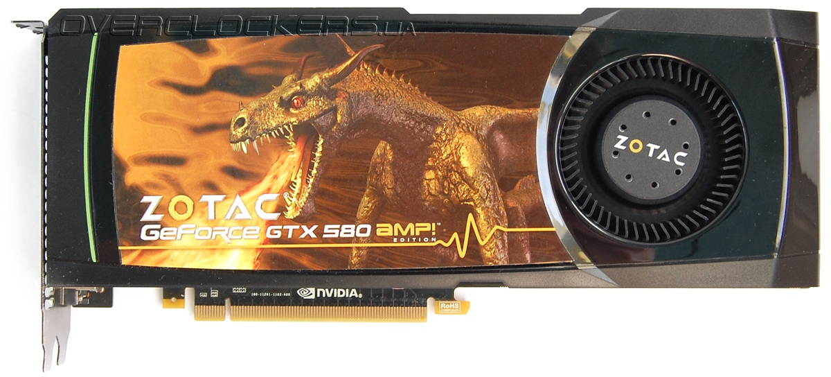 Zotac GeForce GTX 580 AMP!