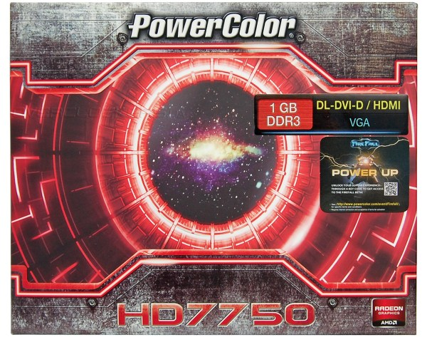 PowerColor HD7750 1GB DDR3 (AX7750 1GBK3-H)
