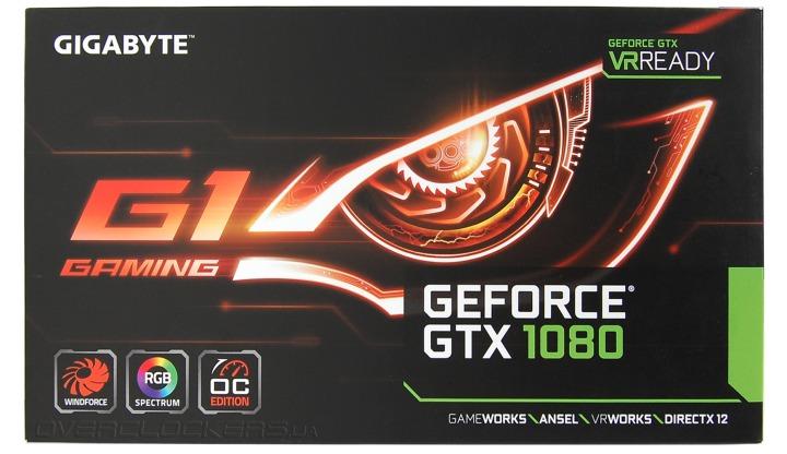 Gigabyte GV-N1080G1 GAMING-8GD