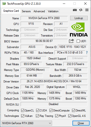 GeForce RTX 2070, GeForce RTX 2060 и GeForce GTX 1660 Ti