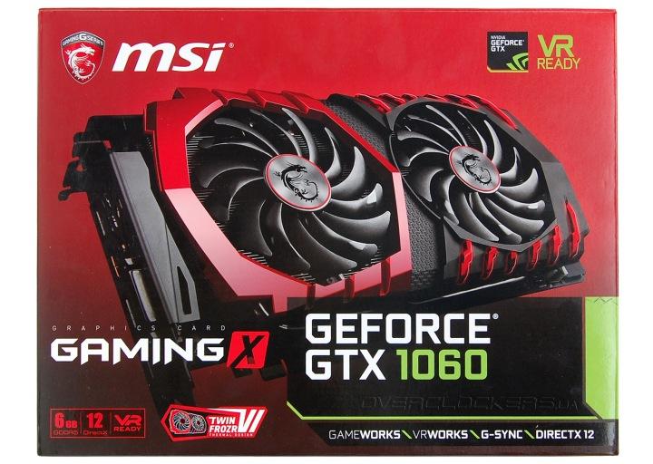 NVIDIA начала продажи видеокарты GeForce GTX 1060