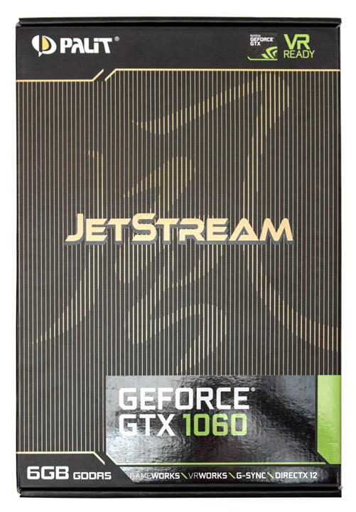 Обзор и тестирование Palit GeForce GTX 1060 Jetstream 6GB