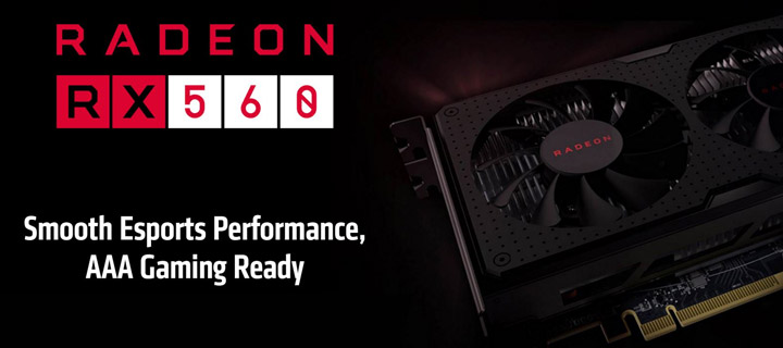 Знакомство с Radeon RX 560 2GB на примере видеокарты PowerColor Red Dragon. Сравнение с GeForce GTX 1050